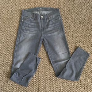 7 For All Mankind Jeans - Gray 7 Jeans